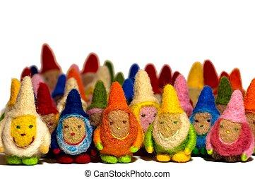 Group Of Little Men