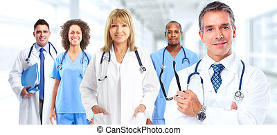 Group of medical doctors.