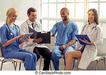 Group of medical doctors