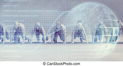 Group of Multiethnic Diverse Business People Concept ...