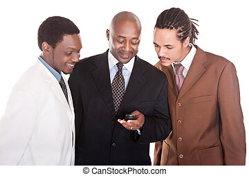 Group of multiracial businessmen