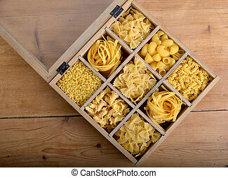 Group of pasta
