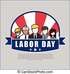 Group of People Different Occupation Set, International Labor Day Flat Vector Illustration