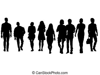 Group of people one
