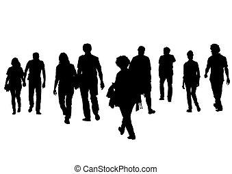 Group of people three