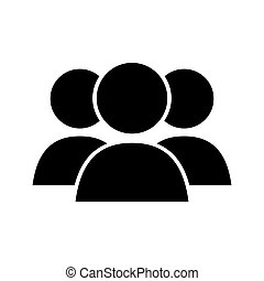 group of persons , vector
