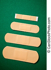 Group of plasters