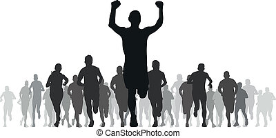runners - group of runners