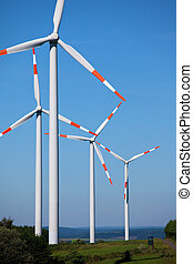 Group of wind turbines