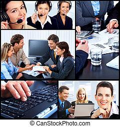 group., pessoas negócio