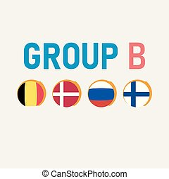 Group stages of the European football championship