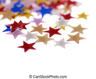 Group star shape corner. - Holiday group star shape corner.