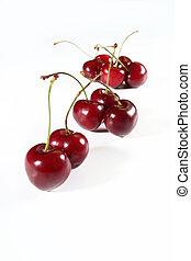 group sweet cherry