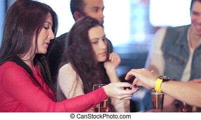Group the bar