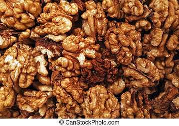 Group walnuts without shell