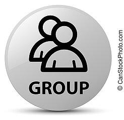 Group white round button