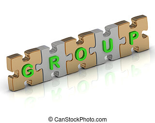 GROUP word of gold puzzle