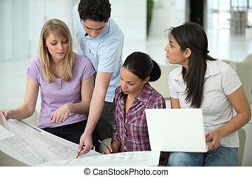 groupe, architectes, fonctionnement