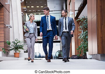 groupe, business, poeple
