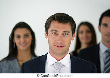 groupe, businesspeople