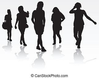 groupe, femmes