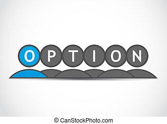 groupe, option