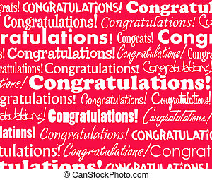 Congratulations - Grouped collection of different ...