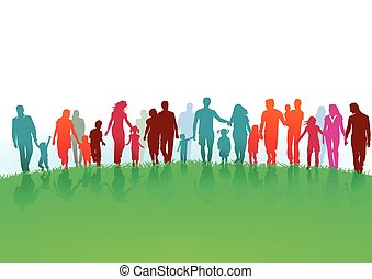 Groups and families