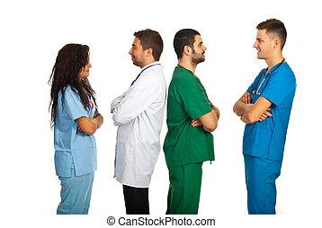 Groups of doctors