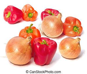 vegetables - groups of vegetables