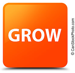 Grow orange square button