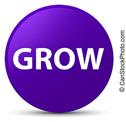 Grow purple round button