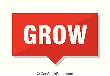 grow red tag