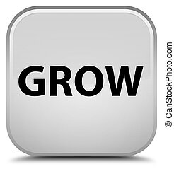 Grow special white square button