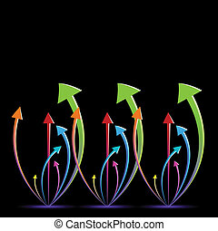 growing arrows