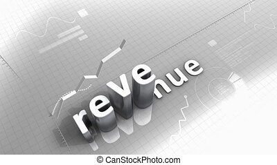 """""""Growing chart animation, Revenue."""""""