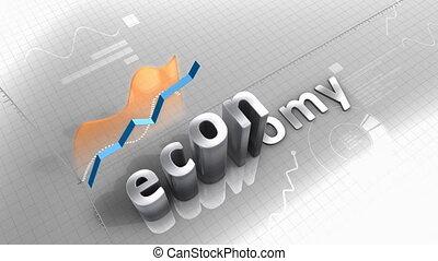"""Growing chart Economy, statistic, data, performance."" - ""..."