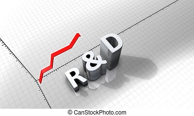 """""""Growing chart graphic animation, R&D."""""""