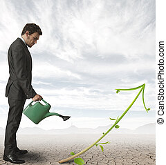Growing company - Concept of growth of a company