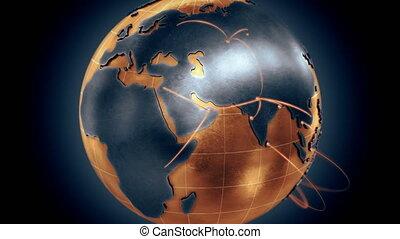 Growing Global Network.