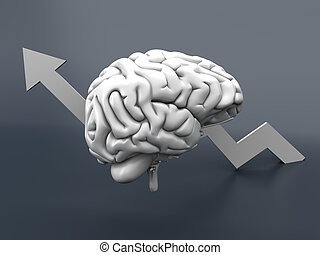 Growing Intelligence - Growing intelligence. 3D...