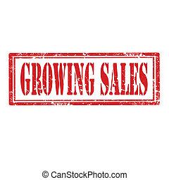 Growing Sales-stamp