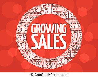 Growing Sales stamp