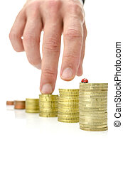 Growing savings