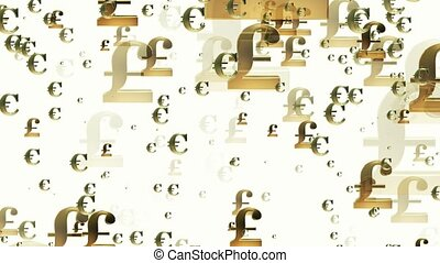 Growing up pounds and euro signs