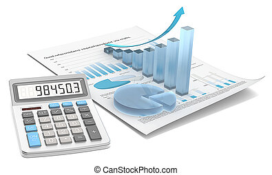 Growth and Market Share. - Abstract financial document with...