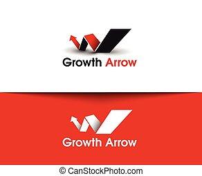 Growth Arrow  Logo