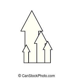 growth arrows chart
