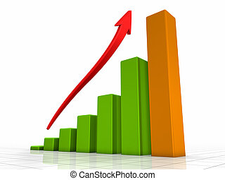 Growth Chart - Growth chart, green bars - the highest one is...
