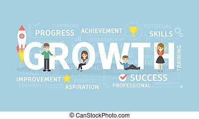 Growth concept illustration.